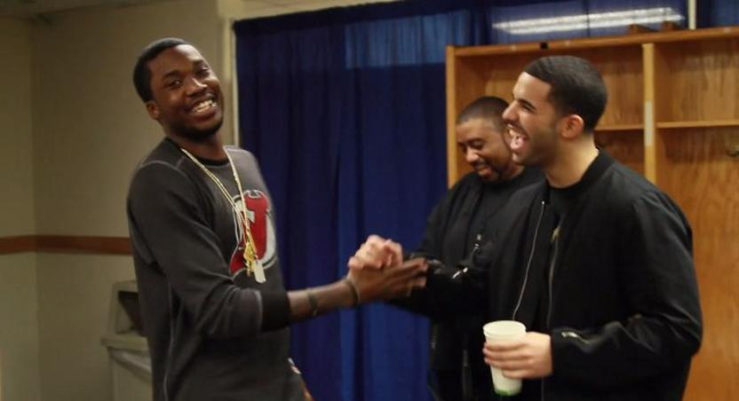 Drake took to his Instagram to announce that he's now at peace with Meek Mill in a picture with both rappers exchanging a handshake.