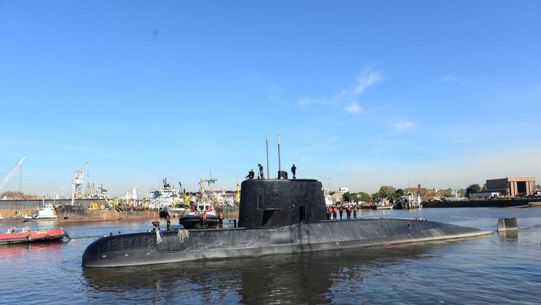 Zaginiony argentyński okręt podwodny