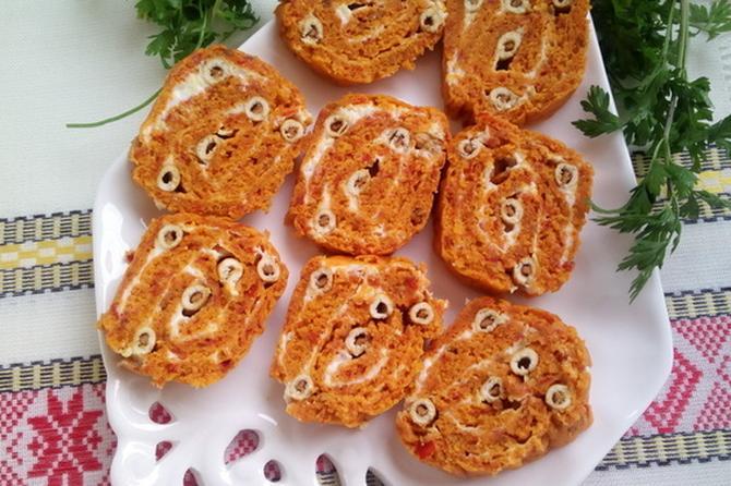I lepo i ukusno: Posni rolat sa ajvarom i grisinama od kikirikija