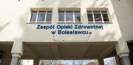 Szpital w Bolesławcu zakorkował się!