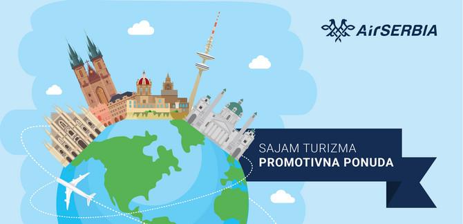 Er Srbija na Sajmu turizma u Beogradu