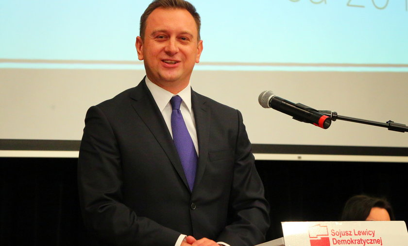 Tomasz Trela szefem SLD w Łodzi.