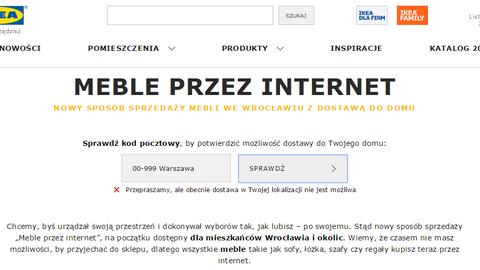 Screen ze strony www.ikea.com/pl/pl/mebleprzezinternet