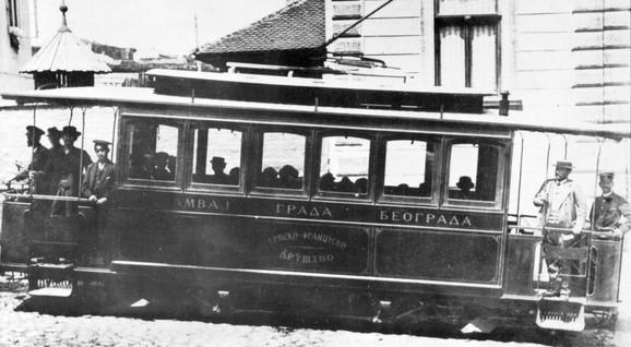 Električni tramvaj na Savskoj liniji (klikni za uvećanje +)