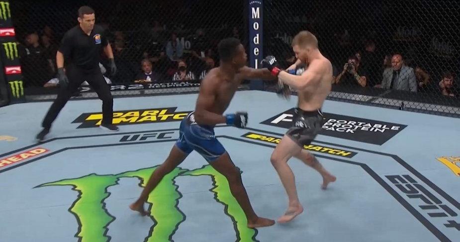 Jeden z najszybszych nokautów w historii UFC! McKinney skończył rywala w 7 sekund (WIDEO)