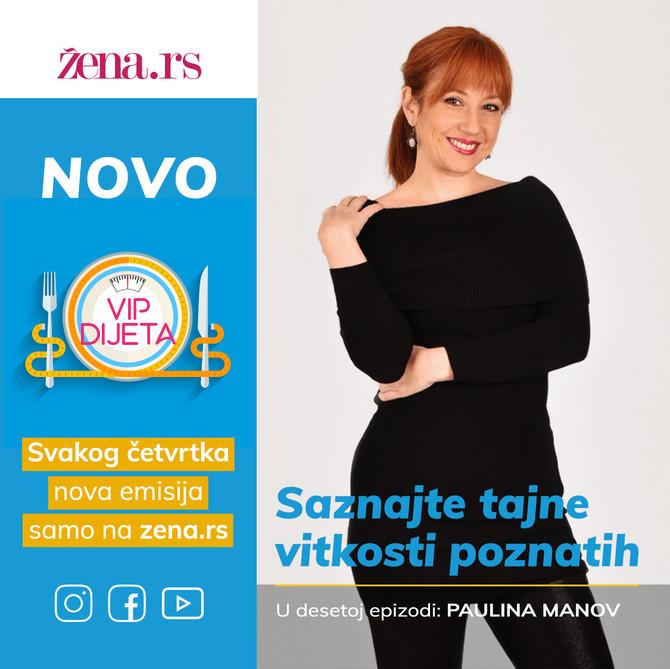 """Paulina Manov, gošća 10. epizode """"VIP dijete"""""""