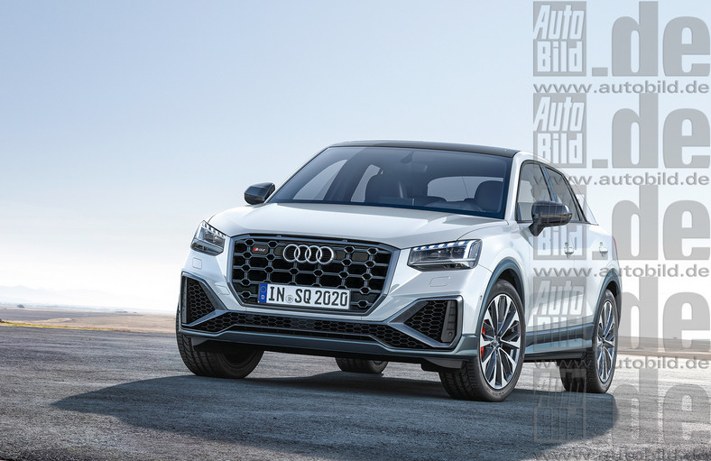 Audi SQ2 po face liftingu