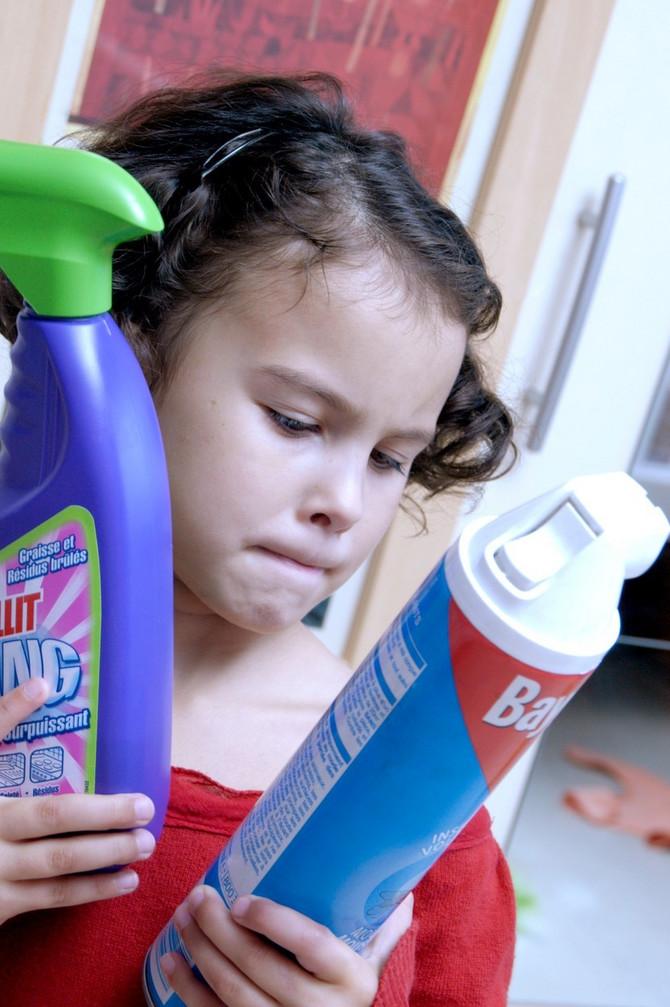 Držite kućnu hemiju daleko od dece