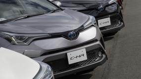 Toyota C-HR – może pęknąć zbiornik paliwa!