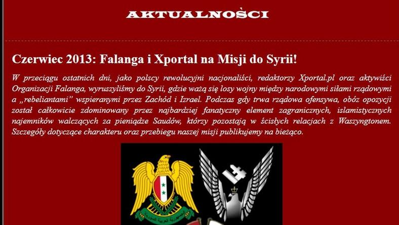 Narodowcy i byli członkowie Samoobrony u Asada