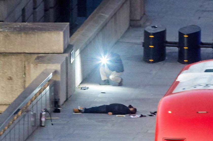 Terrorysta został zastrzelony przez brytyjskie służby