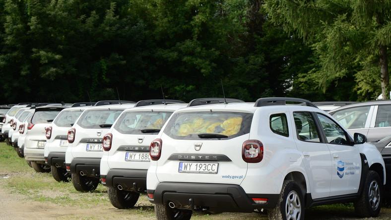 Dacia Duster w PGW Wody Polskie
