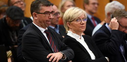 Mąż prezes Przyłębskiej leni się na placówce. Broni go żona?