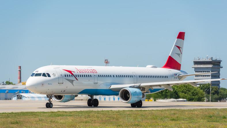 Samolot linii Austrian Airlines