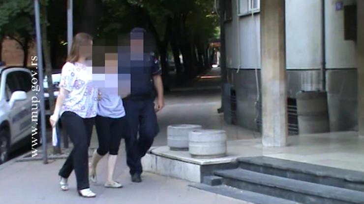 hapšenje žene