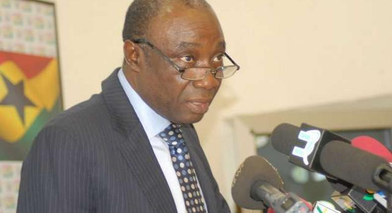 Kwabena Donkor, former Minister of Power