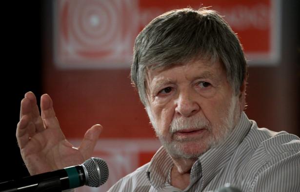 Szewach Weiss ambasador Izraela w Polsce (2001–2003), przewodniczący Knesetu (1992–1996), profesor nauk politycznych