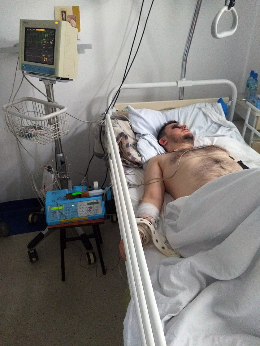 Pobyt w szpitalu
