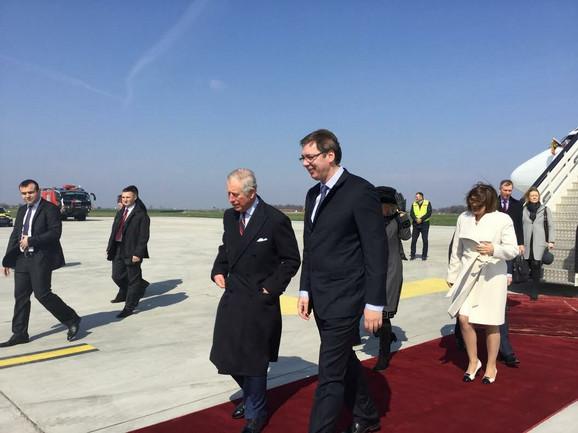 Princ Čarls i premijer Vučić
