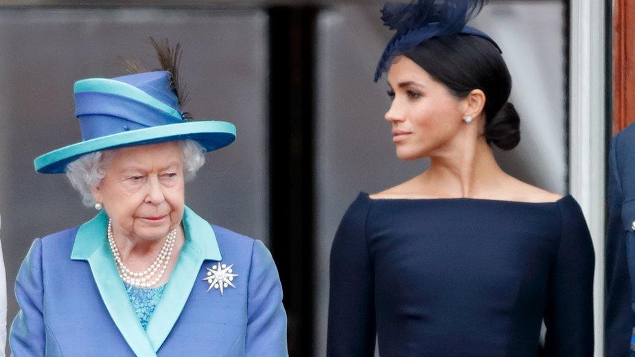 Królowa rozumie powody nieobecności Meghan