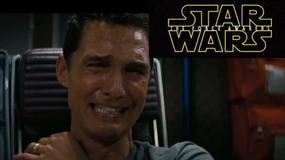 """Matthew McConaughey płacze oglądając zwiastun """"Gwiezdnych wojen"""""""