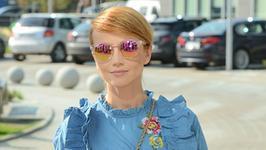 Katarzyna Zielińska przerażona u fryzjera