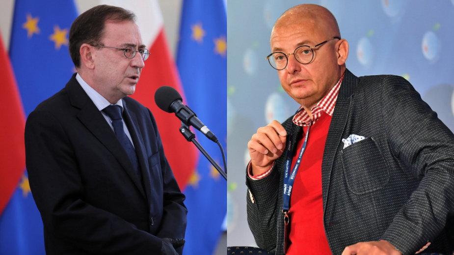 Minister Mariusz Kamiński i senator Michał Kamiński