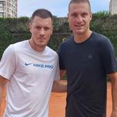 """VEČITI DERBI"" U HUMSKOJ! Nikola Ninković igrao tenis protiv Zvezdine LEGENDE!"