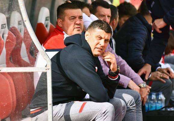 Vladan Milojević, trener Zvezde