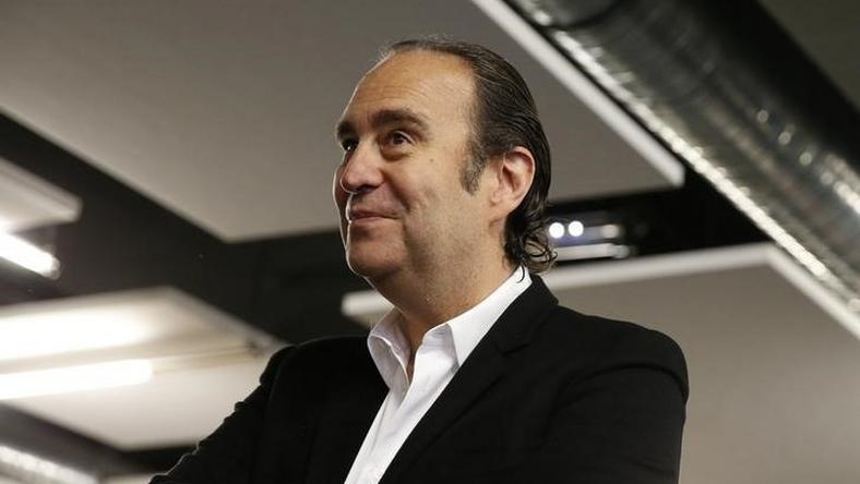 Xavier Niel, founder of French broadband Internet provider Iliad, in a file photo. REUTERS/Benoit Tessier
