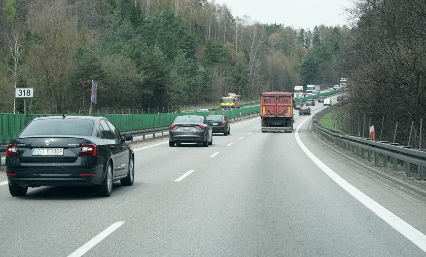 Utrudnienia w ruchu na obwodnicy Trójmiasta. Budowa drogi ekspresowej S6