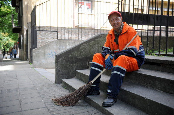 Arsa je 20 godina čistio gradske ulice