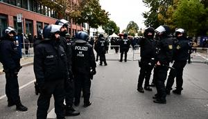 Officers rushed to the scene in southern Germany.