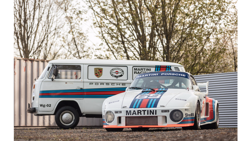 Porsche 934 5 Kremer Group oraz VW T2