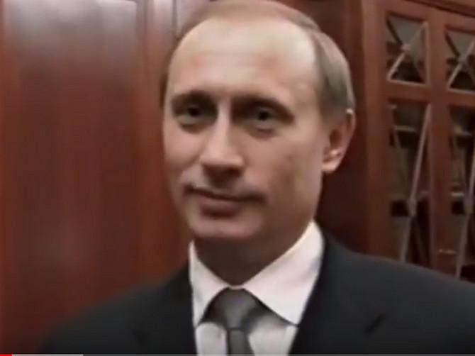 Ovako je predsednik Rusije izgledao u svom prvom pojavljivanju