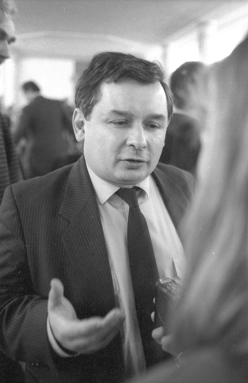 Dziwna przygoda Kaczyńskiego. Przeleżał 24 godziny