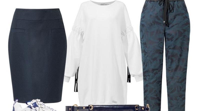 Można by pomyśleć, że projektanci oszaleli, no bo jak to tak? Na sportowo i elegancko zarazem? A jednak patrząc na jesienno-zimowe kolekcje, nie można się nie zachwycić feerią barw i różnych form. Nawet Chanel proponuje na ten sezon sportowe, ale pięknie skrojone żakiety, a pod spodem elegancki w kolorze intensywnego fioletu dresowy komplet - taka stylizacja na pewno sprawdzi się w pracy. Dolce&Gabbana zachwyca intensywnymi barwami, patchworkowym połączeniem tkanin oraz gigantycznym oversize'em, a u Gucci furorę robią kosmiczne sportowe buty z kolorowymi skarpetami.