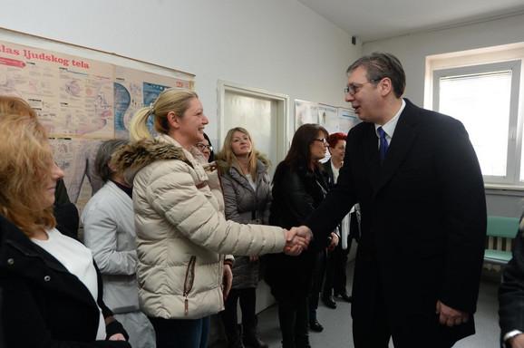 Predsednik u Domu zdravlja u Opovu