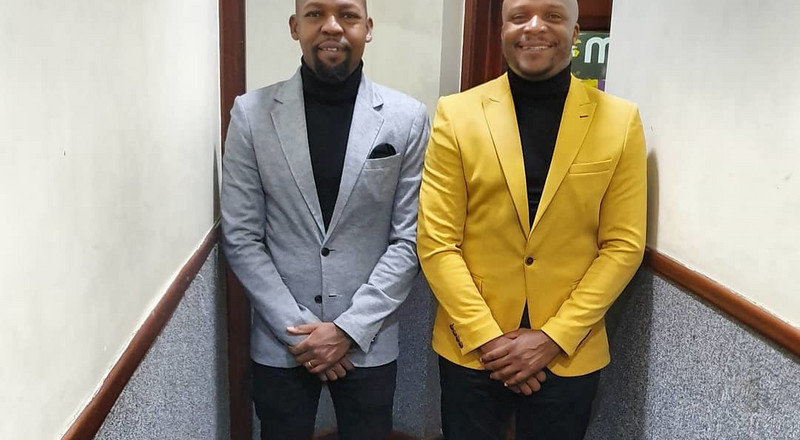 Jalang'o and Alex Mwakideu: Is this the best dressed duo on Radio? (Photos)