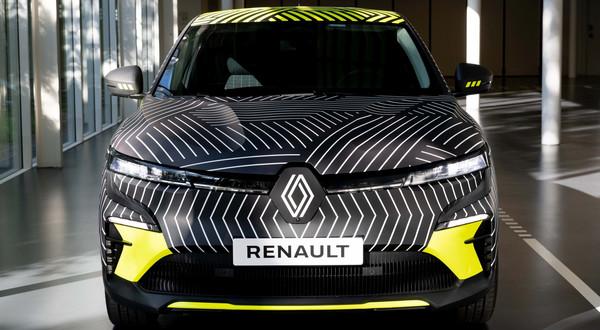Renault Megane E-Tech Electric - egzemplarz przedprodukcyjny