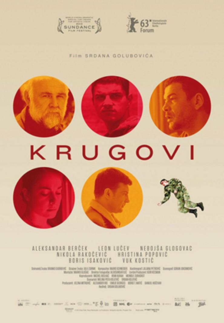 """Plakat za film """"Krugovi"""" Srdana Golubovića koji je inspirisan postupkom Srđana Aleksića"""