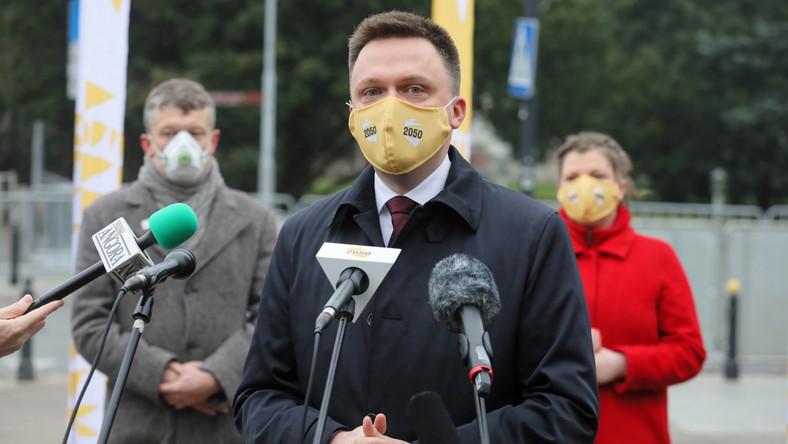 Prezes Stowarzyszenia Polska 2050 Szymon Hołownia