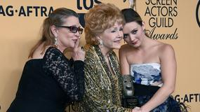 Trzy pokolenia aktorek: Debbie Reynolds, Carrie Fisher, Billie Lourd