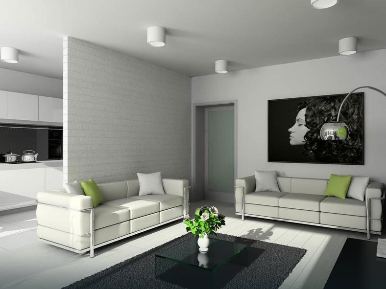 Ozdoby cian w salonie dom for Siti design interni