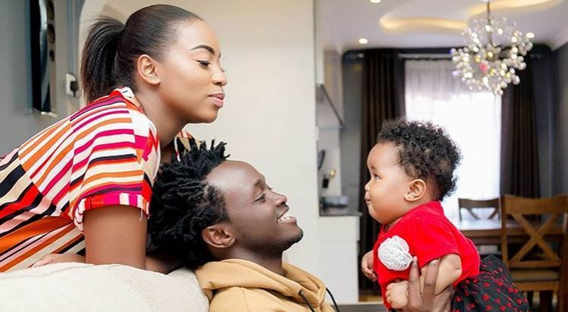 Diana Marua's response to reports that Bahati ordered secret DNA test for their daughter Heaven