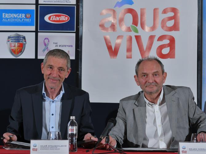 Aqua Viva novi partner Beogradskog maratona