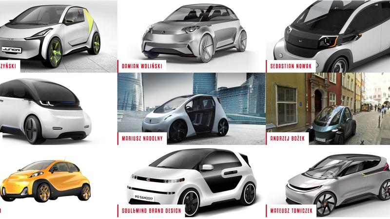 Projekt polskiego auta z napędem elektrycznym - finałowe projekty
