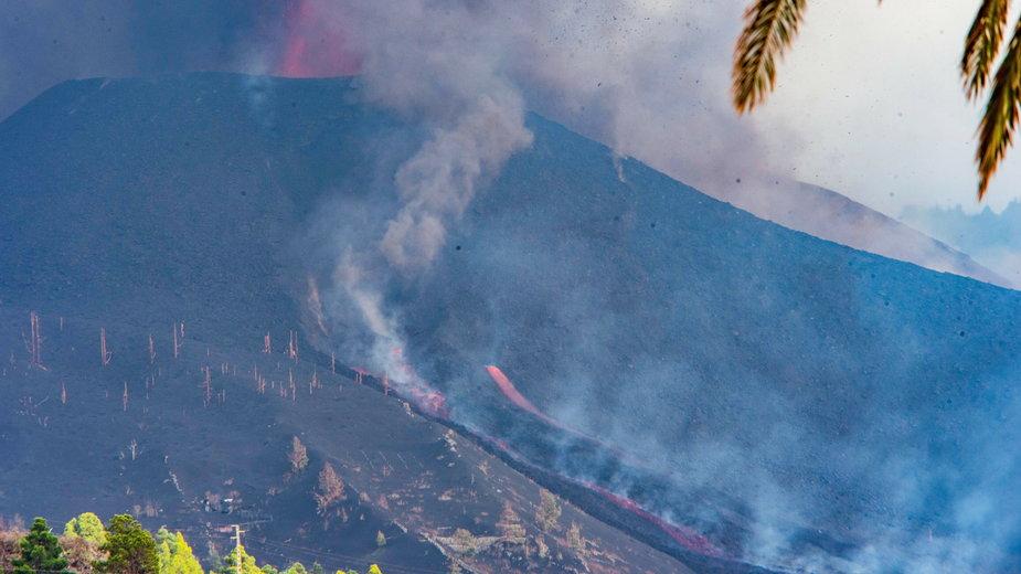 La Palma po erupcji wulkanu