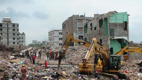 Bangladesz: w ruinach zawalonej fabryki znaleziono żywą kobietę