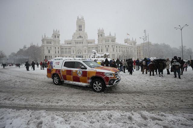 Sneg u Madridu
